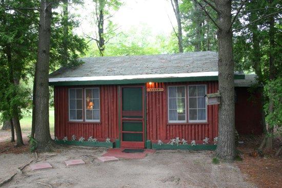 Ellis Lake Resort: Cedar Log Cabin