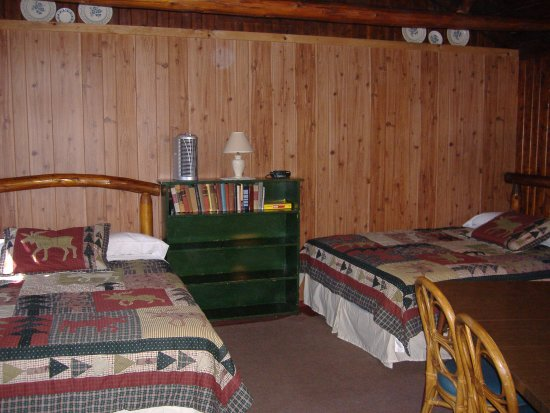 Ellis Lake Resort: Cedar Log Cabin