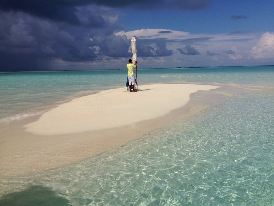 Happy Life Maldives Lodge: Hassan arranged private sandbank trip