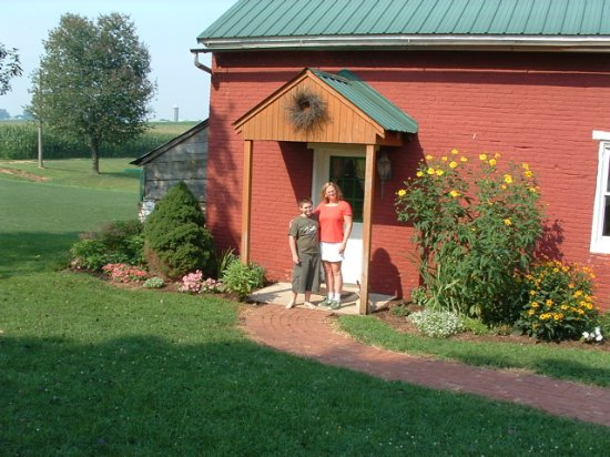 East Earl, PA: Old Summer House entrance