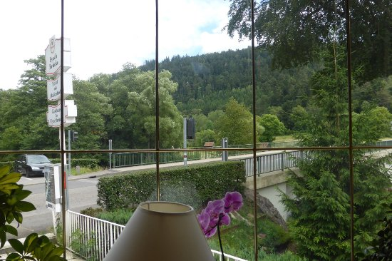 Neuenbuerg, Almanya: Blick aus dem Fenster