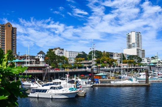 นาไนโม, แคนาดา: Harbour walk