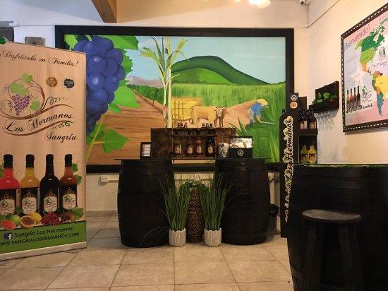 Caguas, Puerto Rico: tasting room