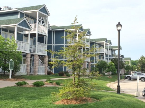 Carriage Hills Resort: Condo buildings