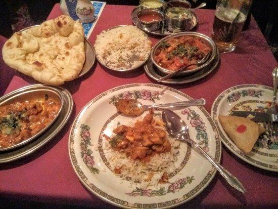 Depa Tandoori: Cena tandori degustación