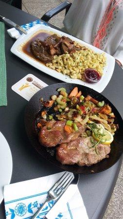 Friedenfels, Germany: Falscher Rehbraten und das Braumeister-Steak