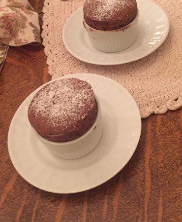 Maison LaVigne: Chocolate Soufflé