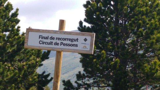 Grau Roig, Andorra: Fin del recorrido