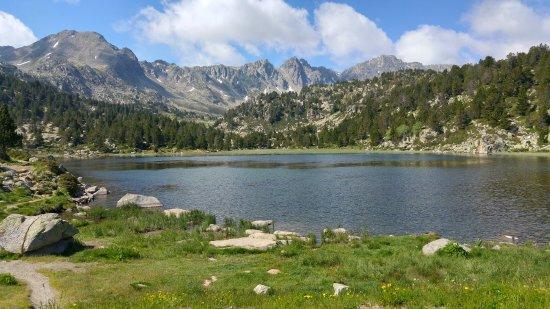 Grau Roig, Andorra: Estany Pessons- primer estany