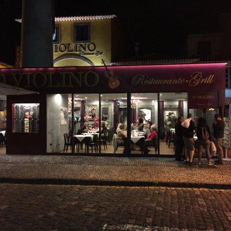 Restaurante O Violino: Enkel men mycket fin restaurang!