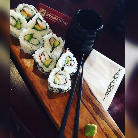 Yamamori Sushi: Really tasty sushi and lots to offer on the menu!! Great soot for lunch!