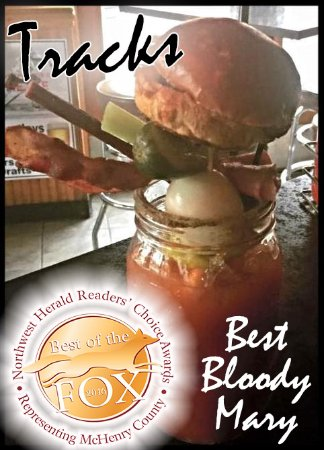 Cary, IL : Our award winning bloody mary!