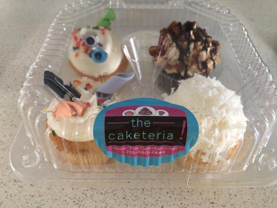 Newtown, Pensilvania: Caketeria cupcakes