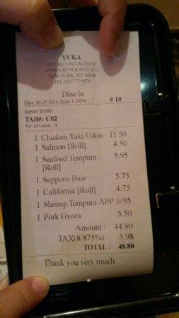 Yuka Restaurant: 20160625_142350_large.jpg