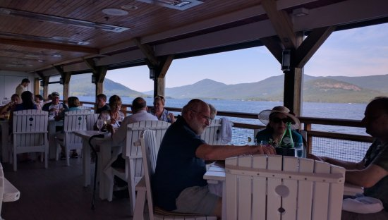The Lakehouse at the sagamore resort: Views of Lake George - from Sagamore's Pinnacle Restaurant