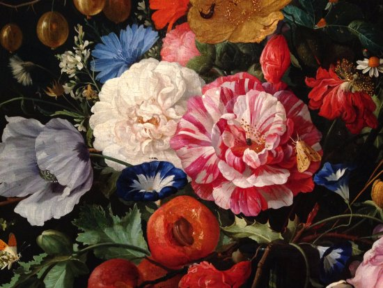 Detail of most beautiful flower paintings ever: Vase of ...