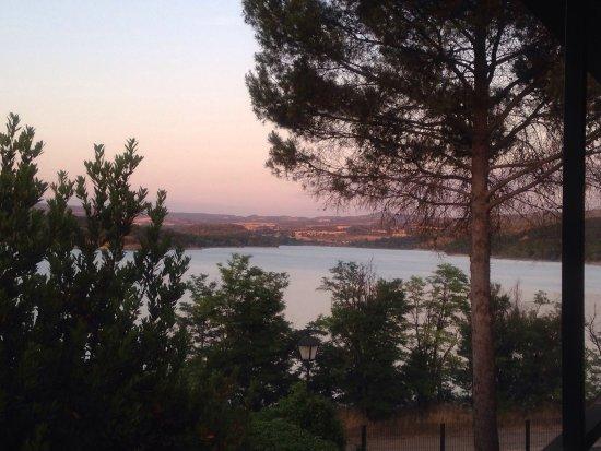 La Puebla de Castro, España: Assortiments fruits de mer et dessert !!