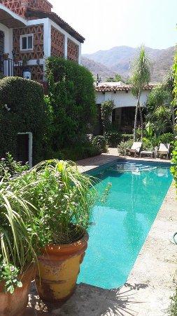 Casa Flores: desde la terraza de la habitación :)