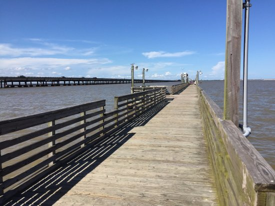 ‪‪Port Lavaca‬, تكساس: Lighthouse Beach Fish Pier‬