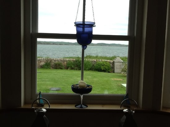Ardoran House: View out front living room window