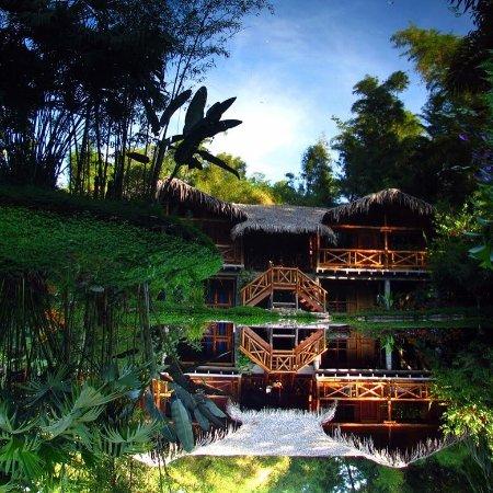 Mindo Lago reflejo