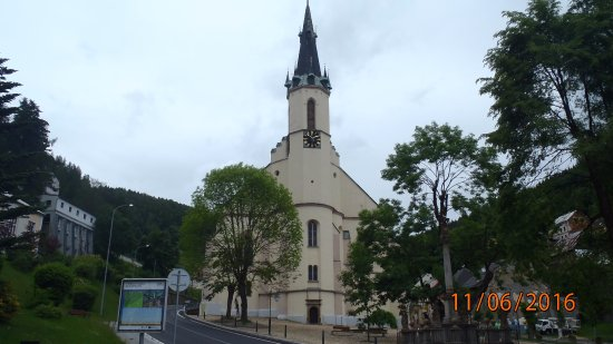 Church of St. Joachim in Jachymov