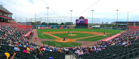 Coca-Cola Field - Buffalo - from behind home plate