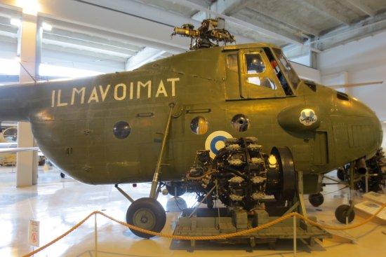 Suomen Ilmavoimamuseo: helikopteri