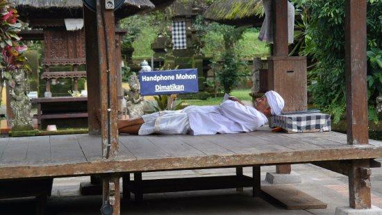 Pura Luhur Batukaru: odpočinek