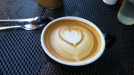 Buff Restaurant: Ginormous mug of cappuccino!