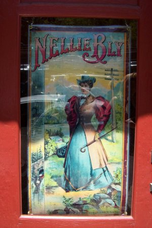 Jerome, AZ: Nellie Bly shop sign