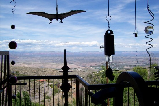 Jerome, AZ: Nellie Bly's back deck