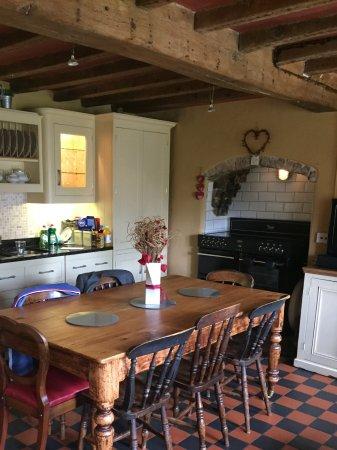 Carsington, UK: Kitchen