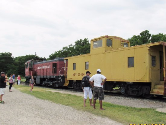 Abilene, KS: view of the train