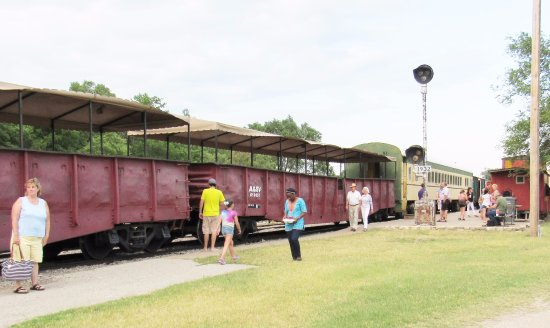 Abilene, KS: another view of the train
