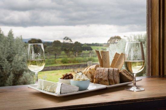 Yarra Valley Dairy cheese platter