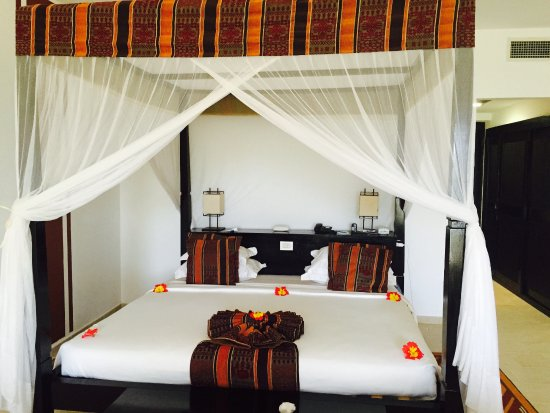 Dream of Zanzibar: My lovely junior suite - the most beautiful room I ever had!!!