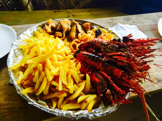 Dream of Zanzibar: If you crave a grilled seafood lunch - ask for Mr Brown (Discover Zanzibar with Mr Brown)