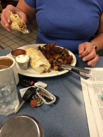 Schuylerville, NY: Breakfast Burrito