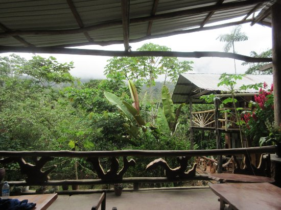 Yankuam Lodge: View from the main Lodge/Dining area