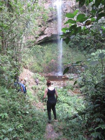 Yankuam Lodge: Yet another local waterfall...