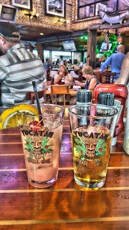 Yucatan Beach Stand Bar: Schöne Gläser