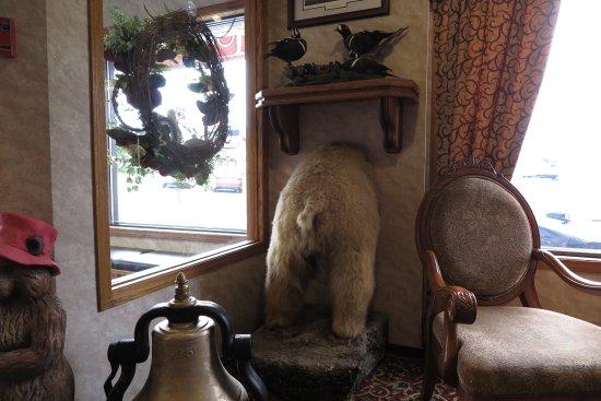 Hotel Seward: Stuffed Animals of a different kind