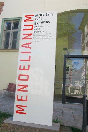 Brno, Çek Cumhuriyeti: Entrance to Mendelianum world