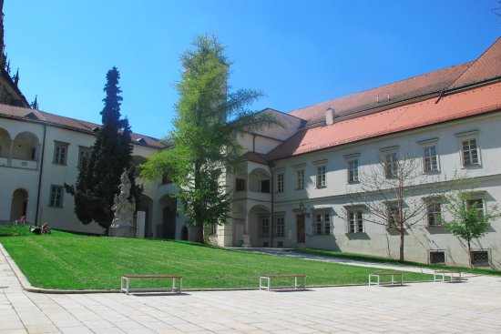 Augustinian Abbey in Old Brno