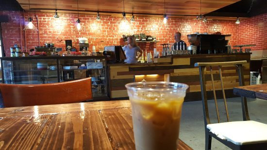 Ottawa, KS: Sippin' on a cold-brewed coffee...