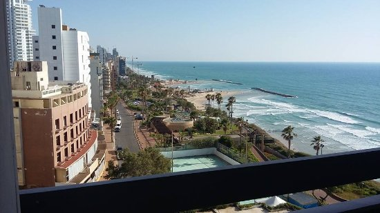 Seasons Netanya Hotel: This was the view from my room... beautiful!