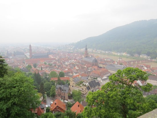 Schloss Heidelberg: View from the castle