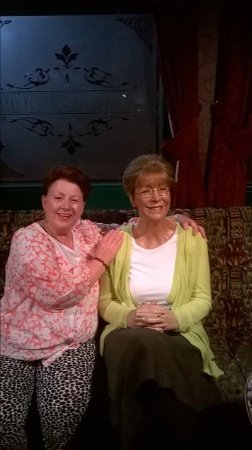 Madame Tussauds Blackpool: Drinking with Deirdre!