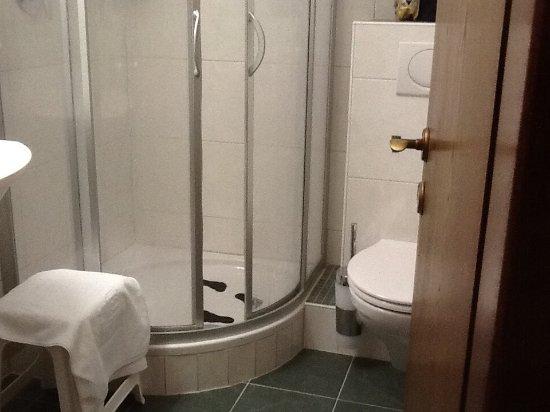 Steinbach Hotel: Shower no bath in room